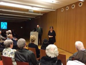 Frau Ellen Presser, Leiterin des Kulturzentrums der Israelitischen Kultusgemeinde München